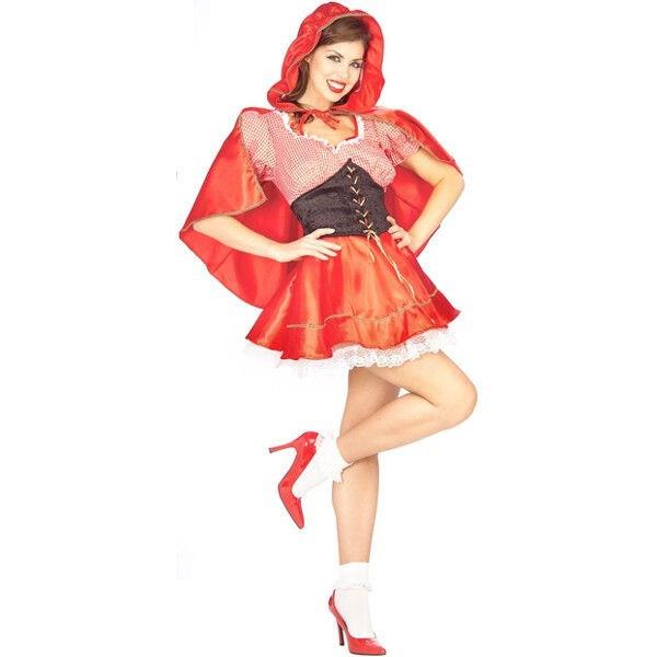 Adult Little Red Riding Hood Costume Ebay