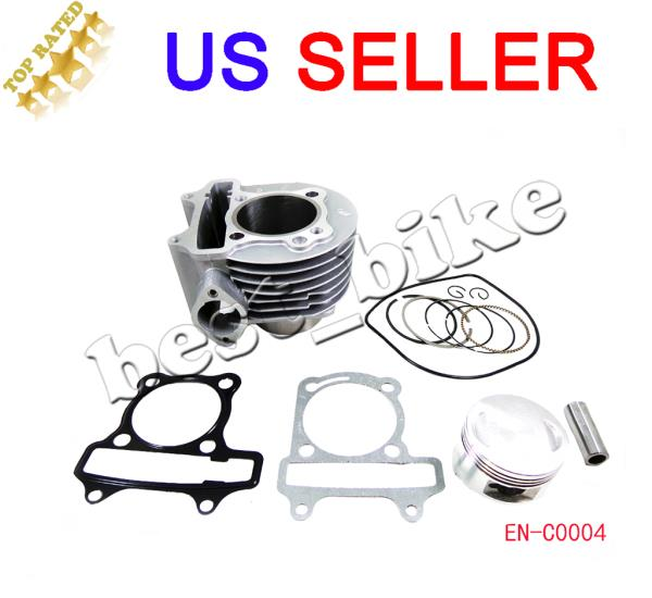 Details about 150CC GY6 SCOOTER moped ATV QUAD Go Kart engine cylinder  piston TAOTAO SUNL