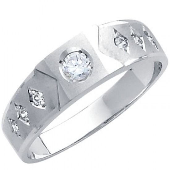 Solid 925 Sterling Silver Spinner Ring Meditation Statement Ring Size M456