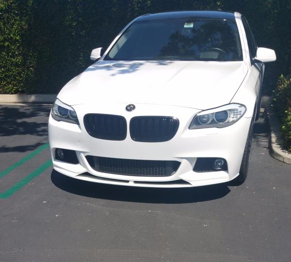 BMW M PERFORMANCE STYLE FRONT LIP SPOILER FOR BMW F10