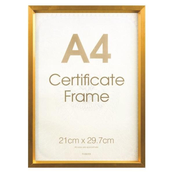 A4 Photo Poster Picture Frame Certificate Frame Freestanding Wall ...