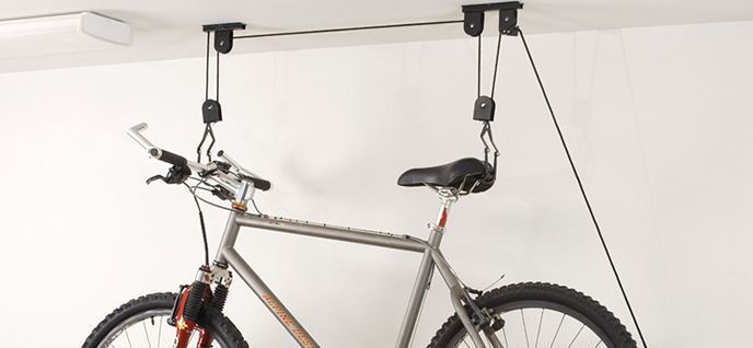Wall Mounted Bicycle Storage Rack Bike Hanging Holder