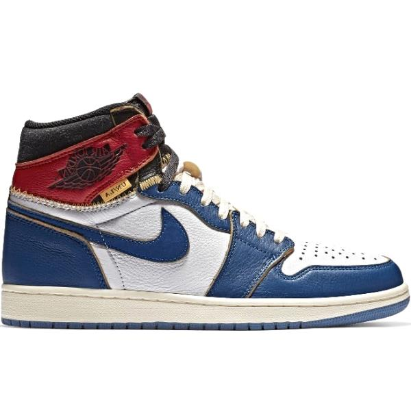 b2268b1e1a91 Nike Air Jordan 1 High x Union Red Blue Size 7 8 9 10 11 12 Men New BV1300- 146