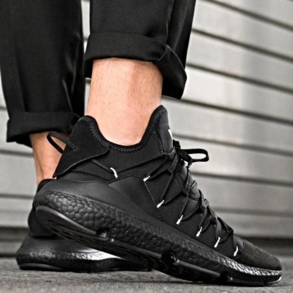 sports shoes 838e8 e5c18 Adidas Y-3 Kusari Sneaker Black Size 7 8 9 10 11 12 Mens NMD Boost Y-3  Ultra New