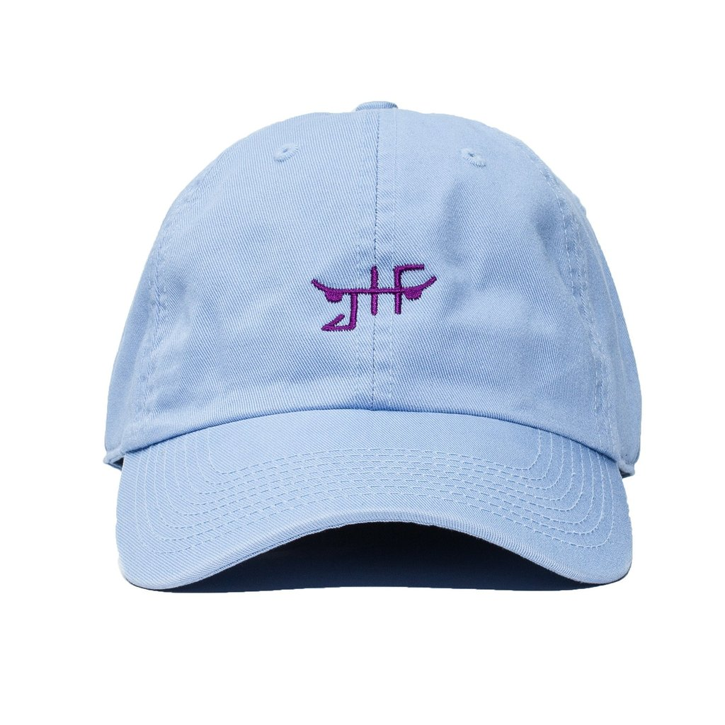 JHF Cap Classic Skate Blue Unstructured Strapback Skateboard Dad Hat OSFM FREE POST New