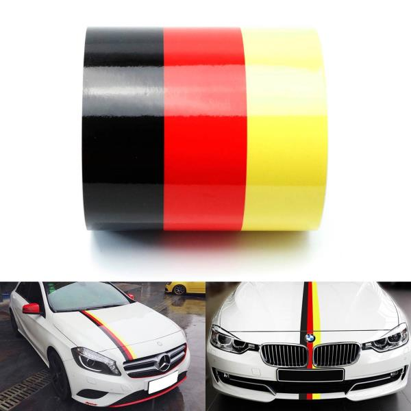 Great for german car drivers who want to add some more aesthetic touch to their car