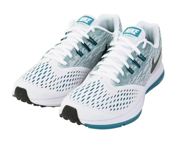 cddb9524f100b Nike Men Zoom Winflo 4 Shoes Running White Mint Casual Sneakers Shoe ...