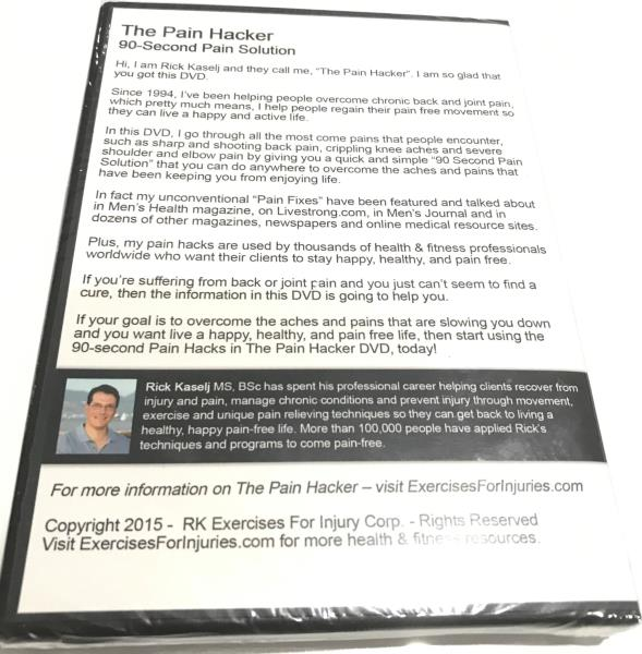 Details about The Pain Hacker : 90-Second Pain Solution - Brand New Sealed