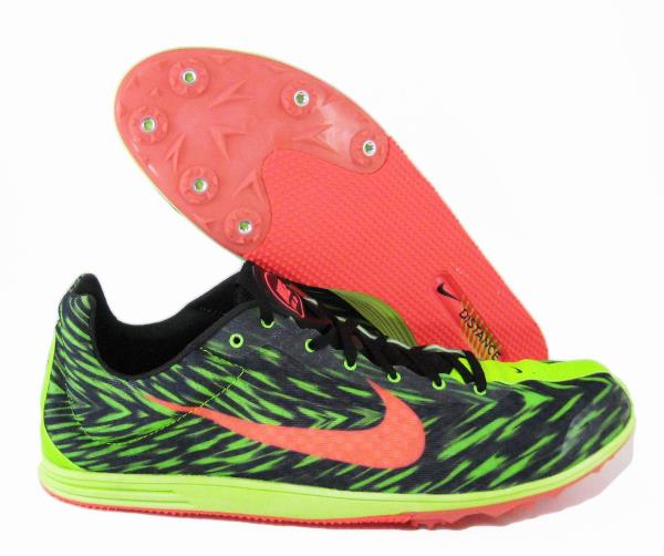 Nike Zoom Rival 8 Track Spikes Green Black Running 616310-306 SZ 15 Training