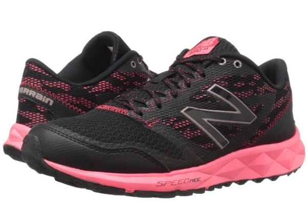Canal Incontable beneficio  New Balance 590 trail runner ladies black pink | eBay