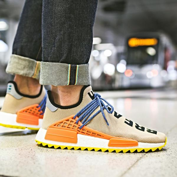 brand new b8728 83333 Details about Adidas Originals PW Human Race NMD Tr Sneaker Pale Nude Size  8-12 Men NMD Boost