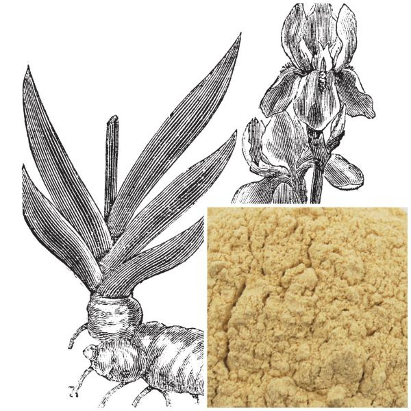 Orris Root powder, organic, soap making supplies, herbal extracts