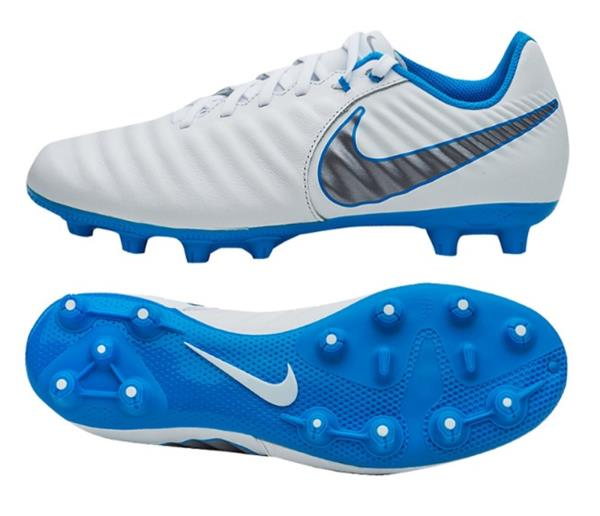 best cheap 1459b 6cea8 Details about Nike Men Tiempo Legend 7 HG Academy Cleats White Soccer Shoes  Spike AO9880-107