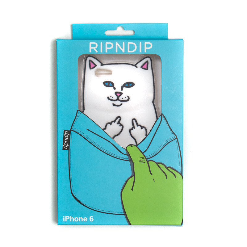 RIPnDIP Lord Nermal iPhone 6 Case White Cover Rip N Dip Skateboard Brand