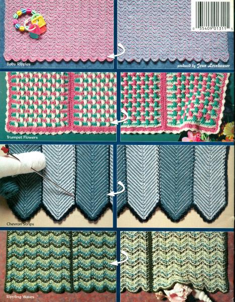 New Learn To Crochet Reversible Afghans Double Ended Cro Hook
