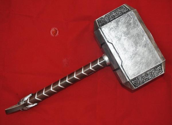 Details about THOR Mjolnir Hammer - made from polyurethane rubber for  Cosplay or LARP