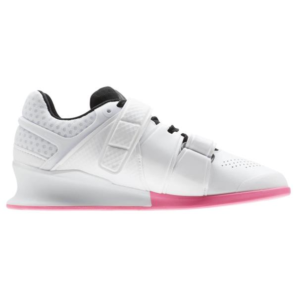CN4515  Womens Reebok Legacy Lifter Crossfit Weightlifting Shoe. Style   CN4515 Color  White Black Acid Pink Gender  Womens 1d530ace0