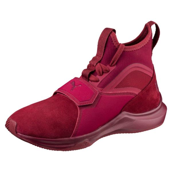 ... Puma Phenom Suede Training Sneaker - Cordovan. Style  190968-02. Color   Red Gender  Womens c3ed9b219