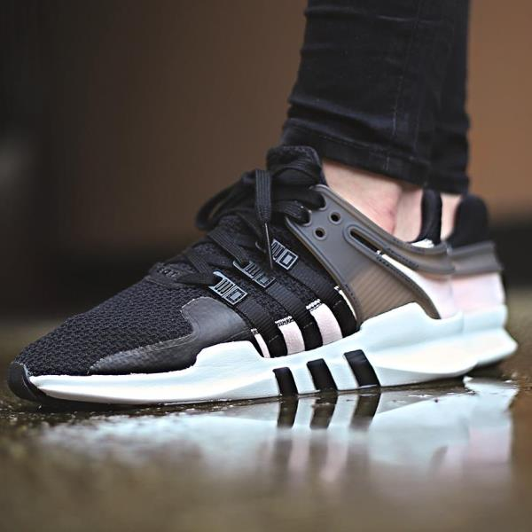 Adidas EQT Support ADV 91/16 (Core Black & Turbo) End Clothing