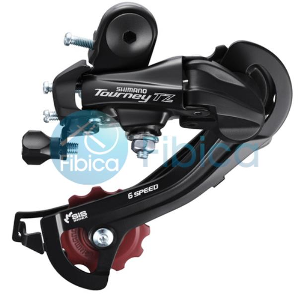 New Shimano Tourney RD-TZ50 Bike Rear Derailleur GS 7//6-speed with hanger