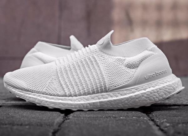 Details about Adidas Running UltraBOOST PK Primeknit Laceless Mid Triple White nmd ltd