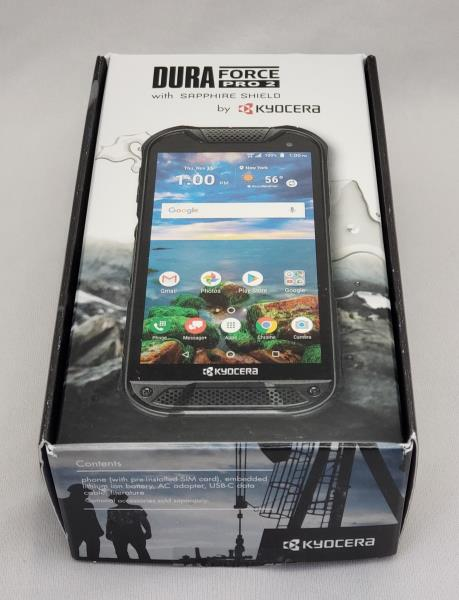 Details about NEW Kyocera DuraForce PRO 2 Sapphire Shield E6910 Black -  Verizon & GSM Unlocked