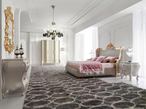 King Size Bed - Luxury Bed - Baroque Bed - Geneve - Modern King Size ...