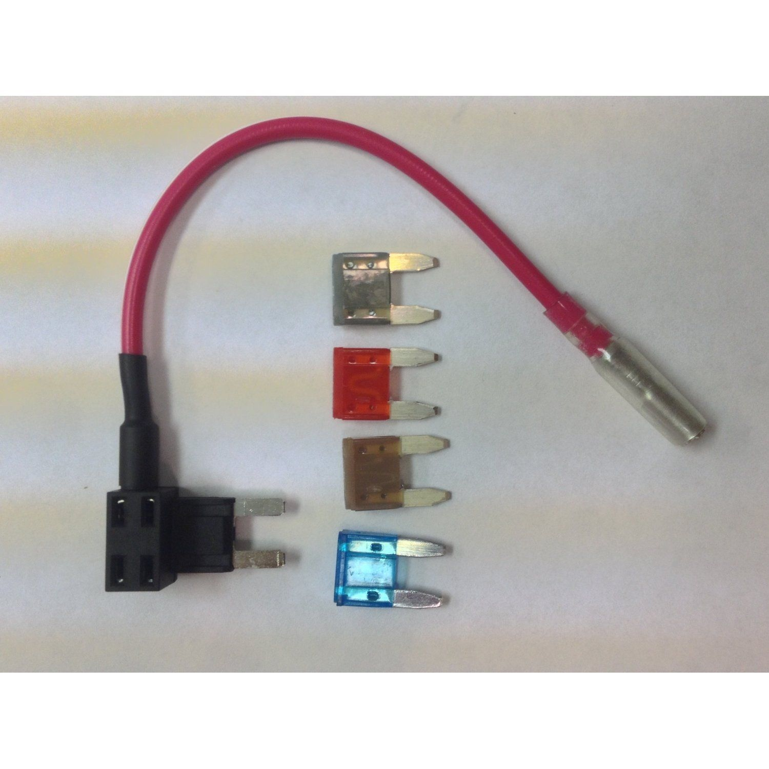 4 fuses ATM Fuse Tap Add-A-Fuse//Add-A-Circuit for Mini Blade style Fuses