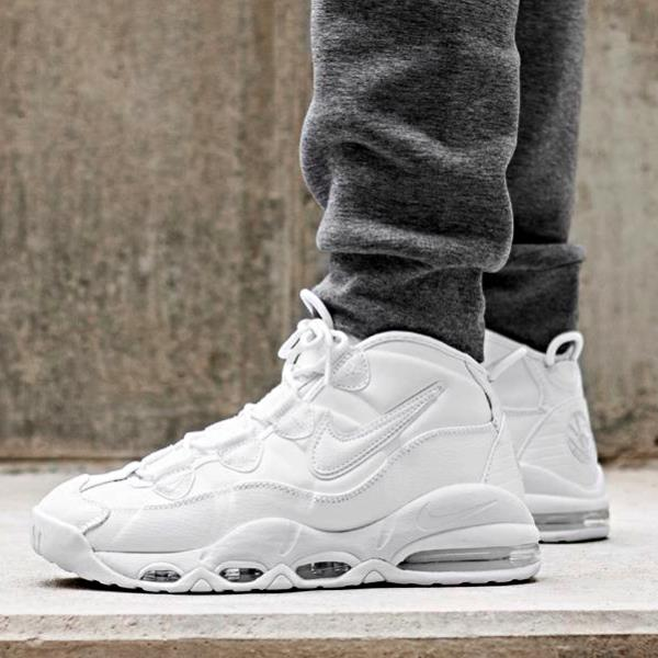 outlet store d4579 a109d NIKE AIR MAX UPTEMPO 95 ALL WHITE SIZE 6-13 I 922935-100 NO
