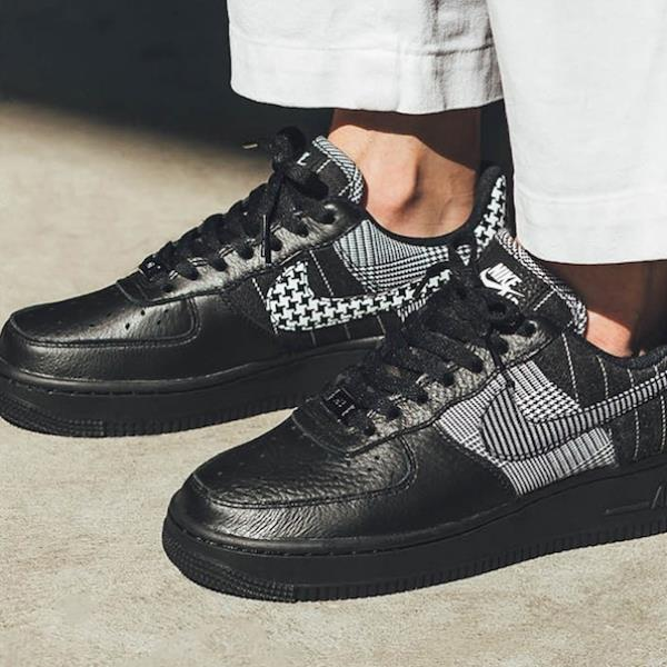 5bcdada8e7d Details about Nike Air Force 1 Low Sneakers Black White Size 6 7 8 9 Womens  Shoes New Presto