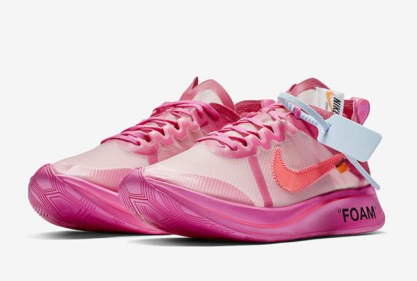 787710cecd029 Off-White X Nike Zoom Fly SP Pink Size 7 8 9 10 11 12 Mens Shoes  AJ4588-600. 100% AUTHENTIC OR MONEY BACK GUARANTEED