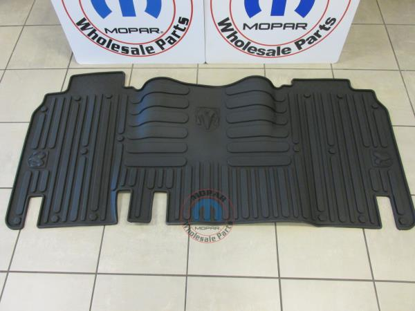 08-12 Dodge Caliber DARK SLATE GRAY RUBBER SLUSH MATS FRONT /& REAR OEM NEW MOPAR