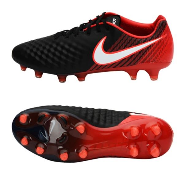 d1b33c61 Details about Nike Men Magista Opus II FG Cleats Soccer Red Black GYM Shoes  Spike 843813-061