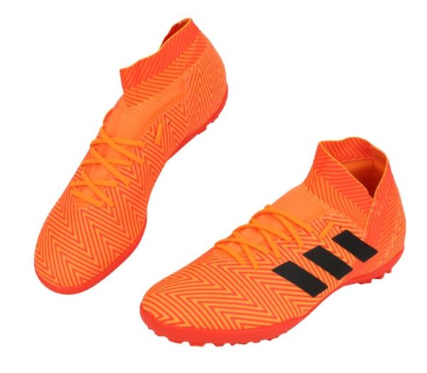 eda39a0d06c Adidas Men NEMEZIZ Tango 18.3 TF Cleats Futsal Orange Shoes Boot ...