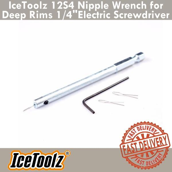 New Icetoolz 12S4 Nipple Tightener For Electric Driver Bike Cycling
