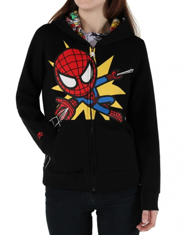 MSRP was $68.99 Tokidoki Marvel Chit Chat Women's Sweatshirt Hoodie All Sizes