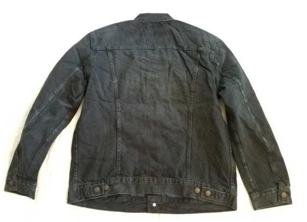 New Men S Xl Levi S The Trucker Black Denim Jean Jacket