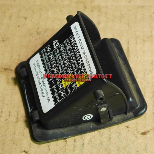 fuse box cover coin holder wrx 02-04 subaru impreza | ebay 96 subaru impreza fuse box diagram