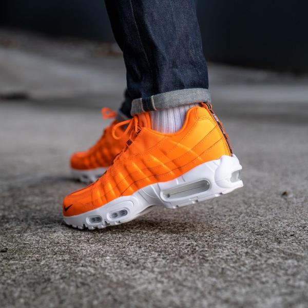 7b0086dcd4 Nike Air Max 95 Premium Orange Size 7 8 9 10 11 12 Mens Shoes Jordan  538416-801. 100% AUTHENTIC OR MONEY BACK GUARANTEED
