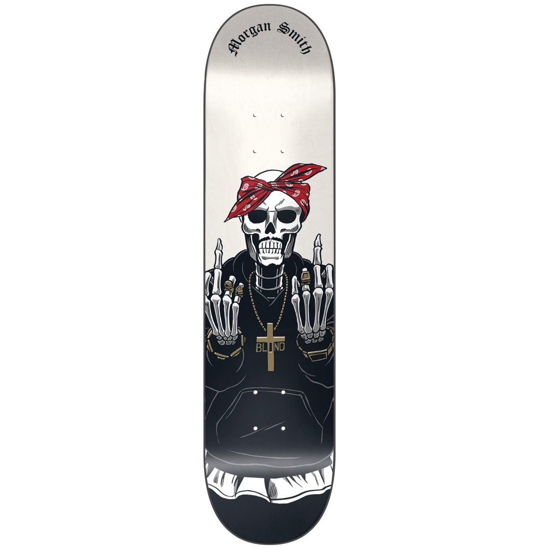 Blind Skateboard Deck Reaper Morgan Smith 8.125 FREE GRIP