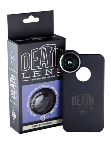 Death Lens Ultra Fisheye IPHONE 4 / 4s Deathlens Skateboard Camera FREE POST
