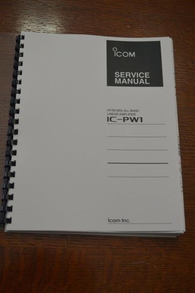 """Full color 11/"""" X 17/"""" Foldouts /& Protective Covers! Icom IC-7000 Service Manual"""