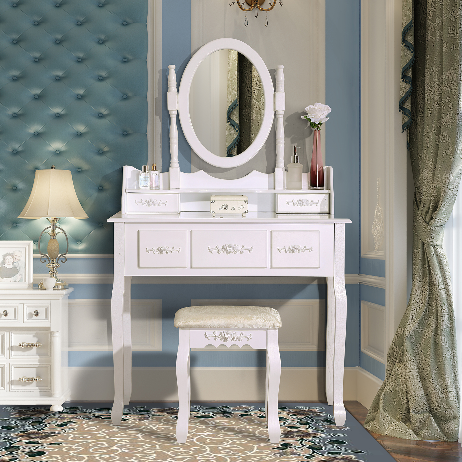 vanity area tables vanities dressing with launching bathroom in sink table n makeup bedroom built mind imagination