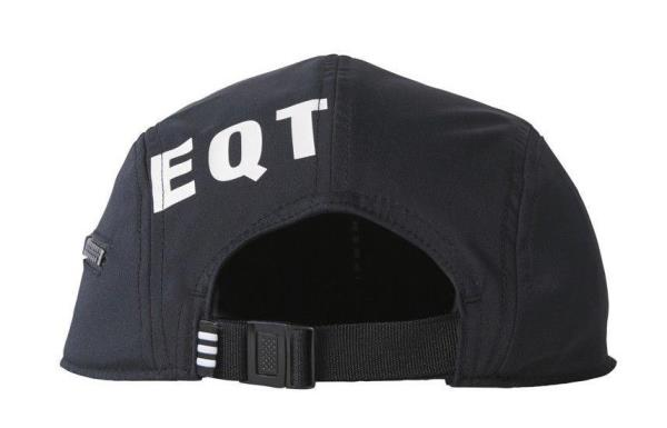 24bdcf9748a BQ5779  Mens Adidas Originals EQT Equipment Zip Cap Hat - Black