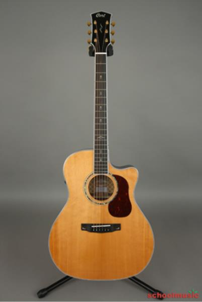 Details about Cort Gold A8 NAT Solid Silka Spruce Top Fishman Grand Auditorium Natural Glossy