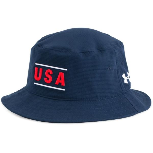 c242f3fd35 Details about New Men's UA Under Armour Vent Bucket Hat - 1314500-408 Navy  White USA