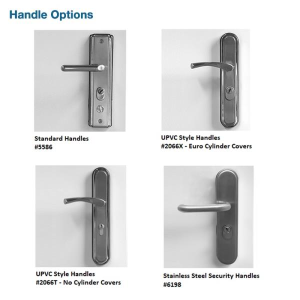 Hooply Lock Handle Amp Euro Cylinder Set Steel Container