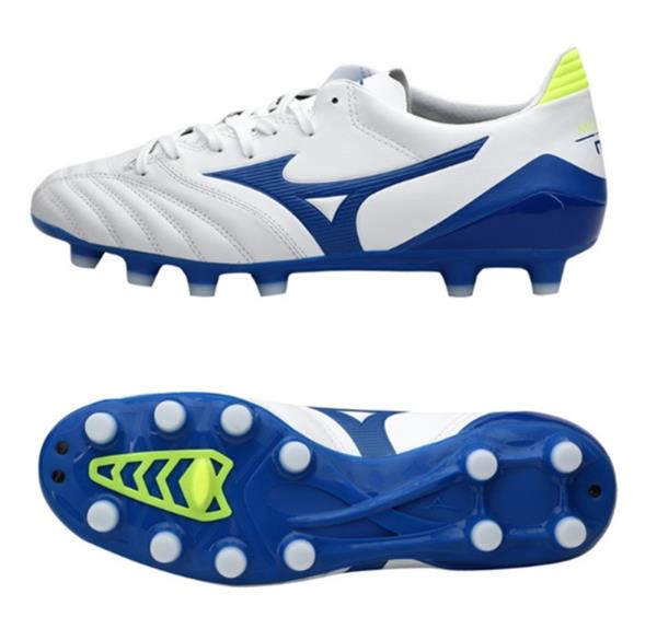 96fbf387523 Mizuno Men Morelia Neo KL II MD Cleats Soccer White Football Spike ...