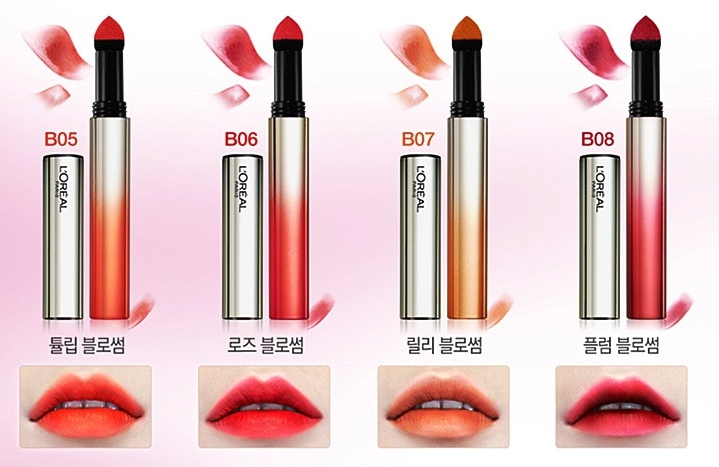 Comes in 8 colors which named after flower blossom.