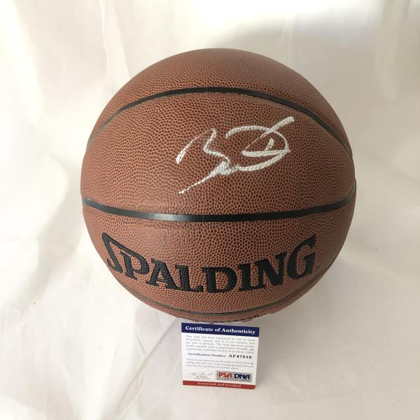 timeless design d66e4 59831 Details about Dwyane Wade Signed Basketball PSA/DNA Miami Heat Autographed